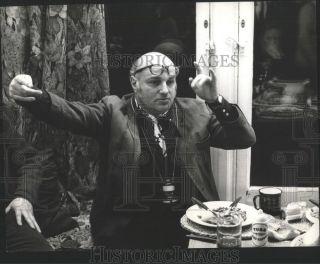 1972 Press Phoo Direcor John Schlesinger plans movemen Bloody Sunday scene |