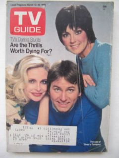 TV Guide March 13 19 1982 John Ritter