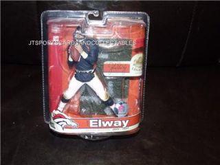 McFarlane Legends Series 3 John Elway Blue Jersey