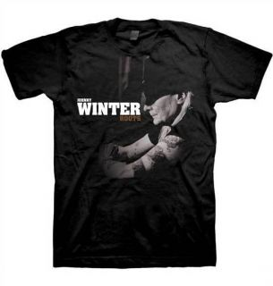 Johnny Winter Roots T Shirt