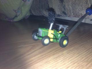 1 64 Custom John Deere Puller Tractor Smoke Pipe Ertl Farm Tractor Toy