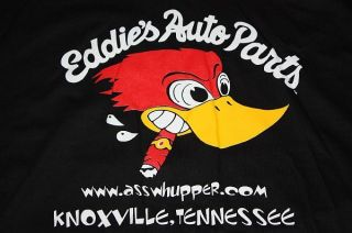 L Eddies Auto Parts Shirt Johnny Knoxville Tennessee