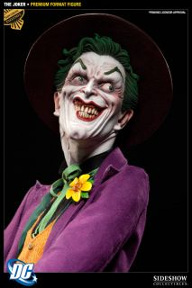 Sideshow Joker Premium Format Exclusive Statue DC Comics Batman Heath Ledger