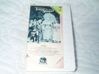 Tom Sawyer VHS Musical Jodie Foster Celeste Holm Warren Oates Johnny Whitaker |