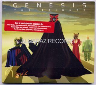 Genesis The Tribute Mexican Edition CD John Wetton Patrick Moraz Flower Kings