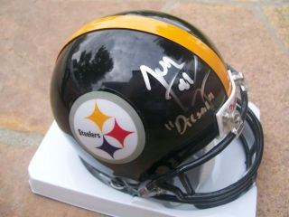 Jonathan Dwyer Signed Autographed Pittsburgh Steelers Mini Helmet
