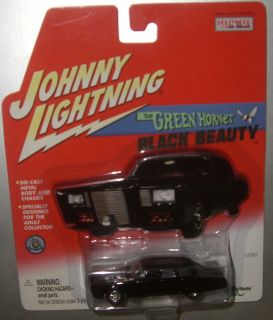 JOHNNY LIGHTNING THE GREEN HORNETS BLACK BEAUTY HOLLYWOOD ON WHEELS SERIES