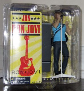 JON BON JOVI Action Figure MCFARLANE New 6
