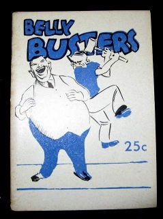 Joke Book 1948 Belly Busters Fun Padell Co