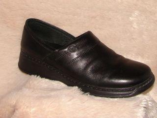 Josef Seibel Black Leather European Comfort Shoe Size Women's 41 10