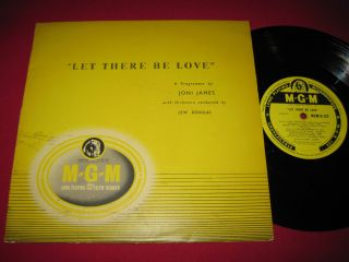 "VG RARE 10"" LP UK Press Joni James Let There Be Love MGM D 127"