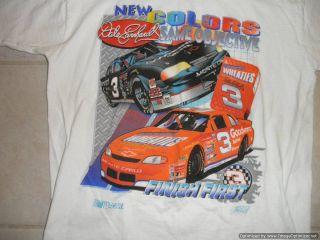 Dale Earnhardt 3 Wheaties T Shirt Large NASCAR Breakfast of Champions Race Car