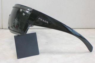 Original Prada Brille Sonnenbrille SPR 50i Farbe 1BO 1A1 Schwarz