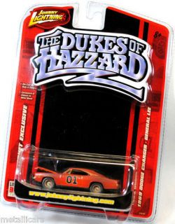 Johnny Lightning Dukes of Hazzard Dirty 1969 69 Dodge Charger General Lee