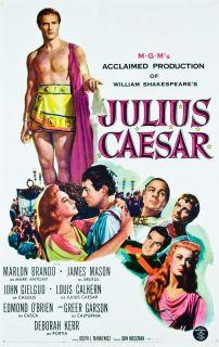 Julius Caesar 1953 Original U s One Sheet Movie Poster