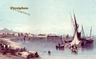 1872 omson LAND of e BOOK Holy Land PALESTINE Lebanon ISRAEL Syria JERUSALEM |