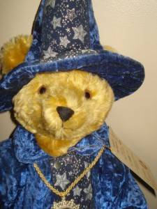Vintage 1994 German Hermann Merlin the Magician Mohair Teddy Bear Ltd Ed USA