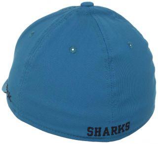 San Jose Sharks Reebok Structured Flex Fit Hat M085Z sz S M
