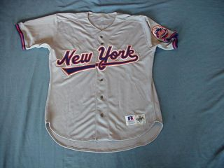 Josias Manzanillo 1993 New York Mets Game Used Jersey