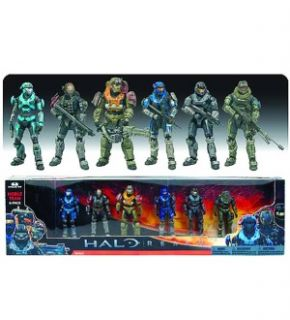 Halo Reach Series 5 Noble Team Figure 6 Pack New