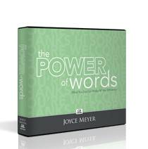 Joyce Meyer Power of Words Synergy 1 DVD and 2 Cd Includes Booklet