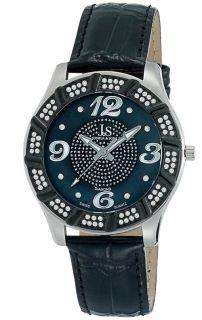 Joshua Sons JS 17 SS Swiss Quartz Diamond Strap Mens Watch