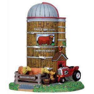 Lemax Harvest Crossing Village Collection Davis and Sons Farms Table Piece