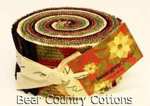 Moda JOVIAL Jelly Roll 40 2 5 Fabric Strips |