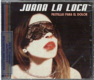 Juana La Loca Pastillas Para El Dolor SEALED CD New 2012