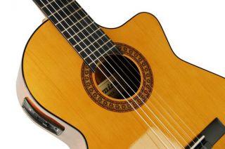 Admira Juanita EC Classical Acoustic Electric Cutaway Guitar Made in Spain