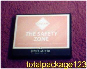 Joyce Meyer The Safety Zone Discover Establish Boundaries de Stress Life 4 CDs