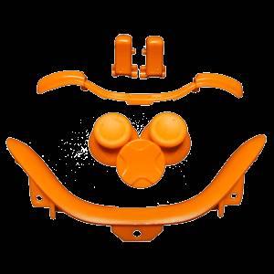 Xbox 360 Controller Orange Kit Thumbsticks D Pad Dpad
