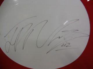 Juan Pablo Montoya Race Used 42 Target Chevy Autographed Hood Sheetmetal NASCAR