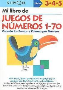 MI Libro de Juegos de Numeros 1 70 Conecta Los Puntos 1934968331