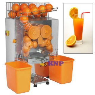 HD Commercial Automatic Orange Juice Machine Citrus Squeezer Lemon Juicer Deli