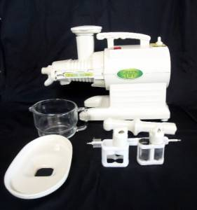 Green Life Star Juice Extractor Twin Gear Model GL 2000I Juicer by Tribest