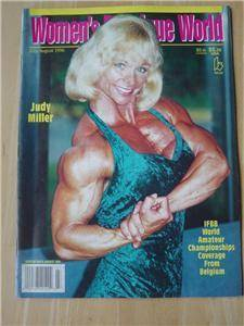 Women's Physique World Female Muscle Judy Miller 8 96