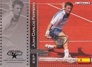 2003 NetPro International Series Tennis 89 Juan Carlos Ferrero As