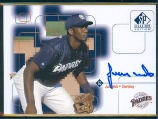 1999 Upper Deck SP Signature Juan Melo San Diego Padres Signed Auto Mint