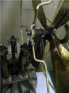 Antiq Jost German Hot Air Kerosene Fan Stirling Engine