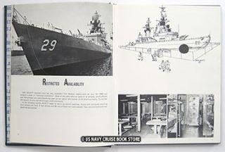 USS Jouett DLG 29 1968 1969 1970 Westpac Vietnam War Cruise Book