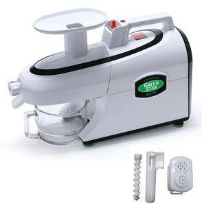 Green Star Juicer Elite GSE 5300 Twin Gear Juicer with Pasta Attachment