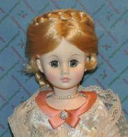 "Madame Alexander First Lady Julia Grant Ser III 1973 14"" Tall Boxed Tags Retired"