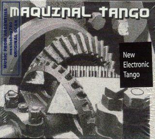 MAQUINAL TANGO SEALED CD NEW JUAN CARLOS CACERES