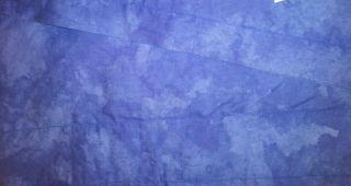 Penneys by Alexander Julian Window Valance Sapphire Blue 16 5 x 41