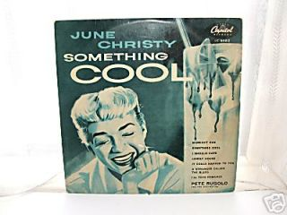 June Christy Something Cool 10 L P 1954
