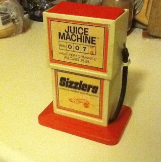 Vintage Hot Wheels Mattel Sizzlers Juice Machine