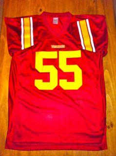 USC Trojans Jersey Junior Seau 55 Football Size Large