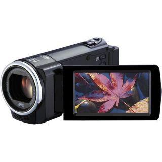 JVC Everio GZ E10 GZE10BUS FULL HD Flash Memory Camcorder (Black)+32GB