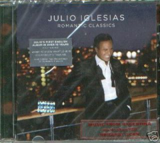 JULIO IGLESIAS, ROMANTIC CLASSICS. FACTORY SEALED CD. IN ENGLISH